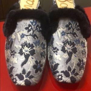 Sam Edelman Shoes - Sam Edelman Adaer  faux fur mule, size 9, new
